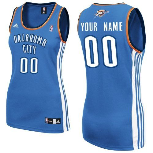 a9d2b0c7a40 ... Customized Royal Blue Adidas Women Road NBA Swingman Oklahoma City  Thunder Quality Fabrics Jerseys Oklahoma City Thunder 35 Kevin Durant Revolution  30 ...