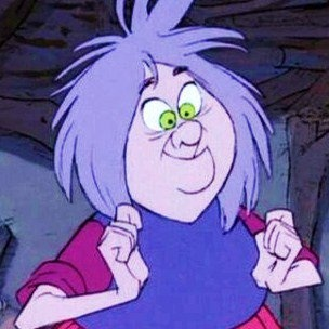 *MADAME MIM ~ The Sword in the Stone, 1963