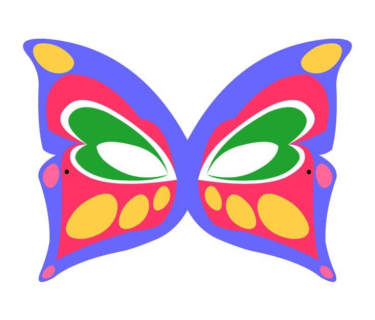 #Lactease ti regala gli animali del bosco!  Stampa e ritaglia la FARFALLA! :-) --->  http://ow.ly/Jk0GL  #maschera #carnevale
