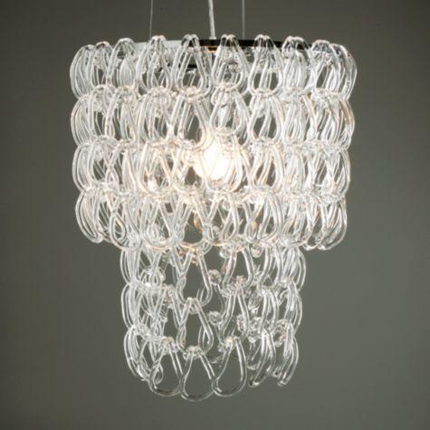Glass Links Chandelier from Z Gallerie 300