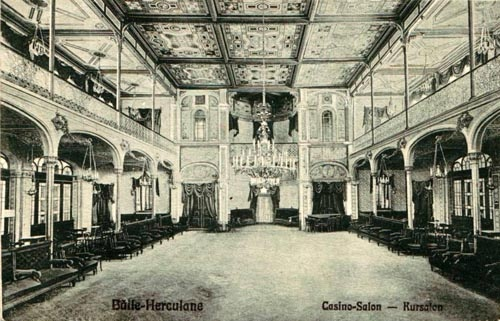Baile Herculane - Casino Interior - antebelica