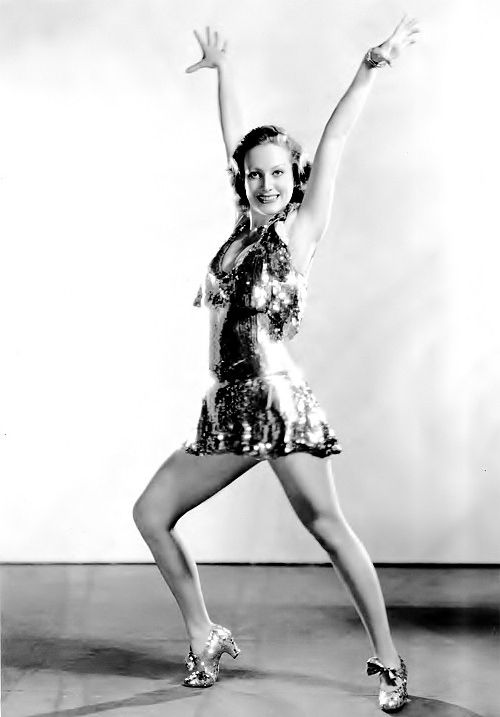 """Joan Crawford in the pre-code film """"Dance, Fools, Dance"""", 1931. Miss Crawford's costumes were designed by Adrian."""