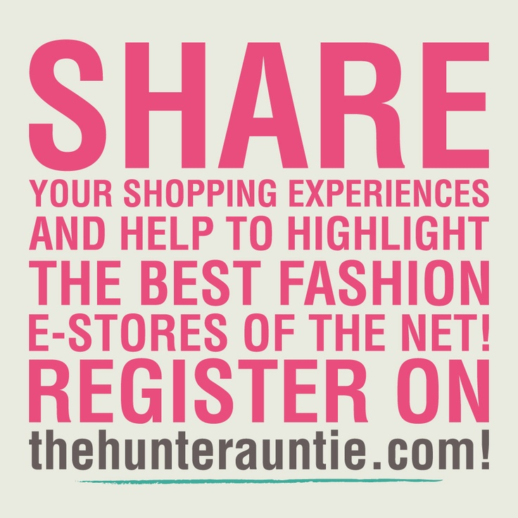 If you love shopping, make your opinion count!