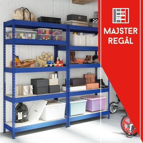 Hledáte regály na jakékoliv interiérové využití s vysokou zátěží? Naše kovové regály s dřevotřískovou policí jsou vhodné do garáže, domácnosti, sklepa, nebo do skladu a obchodu. Zátěž až 300 kg na polici. Vyzkoušejte regály z naší dílny! Váš Majster Regál. https://www.majster-regal.cz/bezsroubove-regaly-s-drevotriskou-policou.html #majsterregal #garáž #sklep #dřevotříska #regály