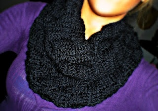 Crochet Basketweave Stitch Infinity Scarf... super warm! FREE pattern