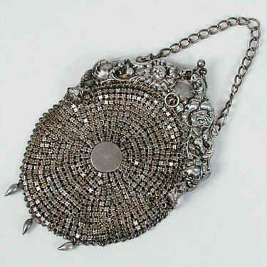 Antique Purse. Love: Antiques Silver, Handbags, Mesh Pur, Antique Purse, Antiques Pur, Sterling Silver, Beads, Vintage Silver, Vintage Purses