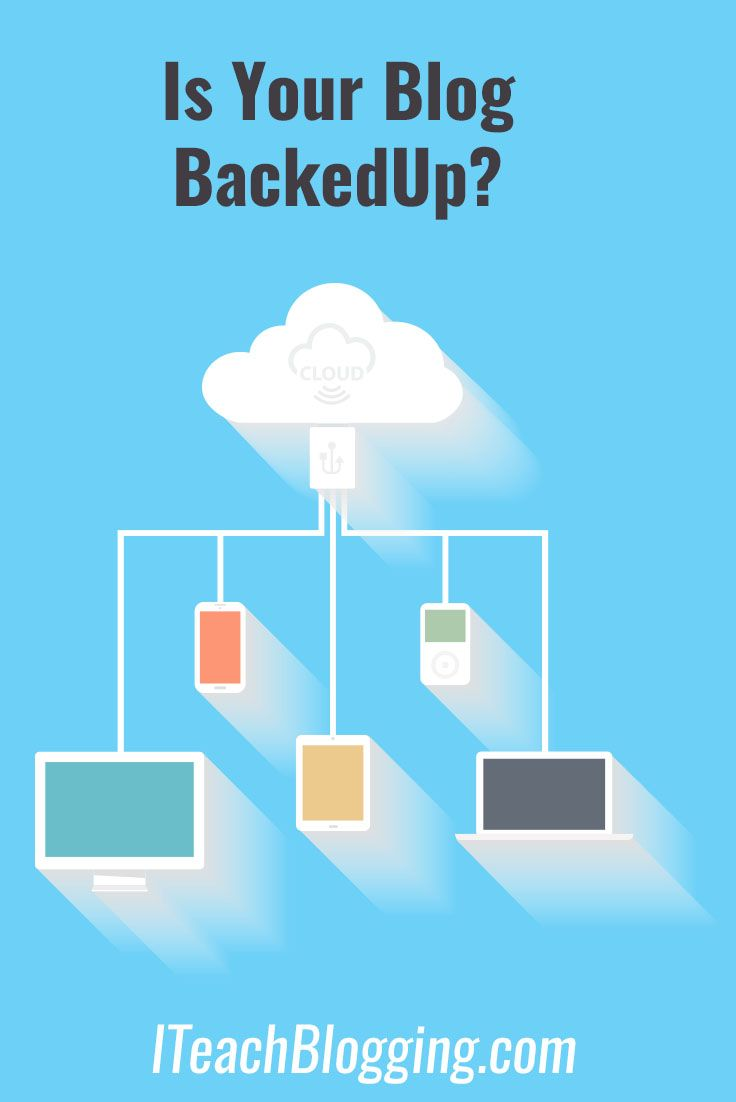 Is your #blog being backed up? How to back up your WordPress blog now.  via…