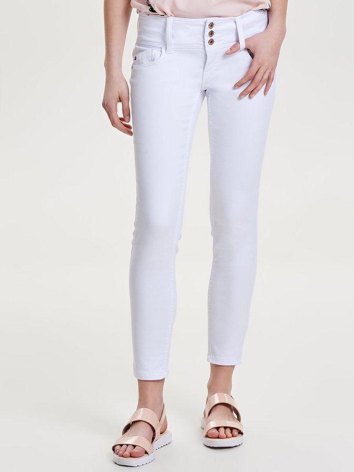 Only Anemone soft ankle Skinny Fit Jeans für 39,99€. Skinny-Knöcheljeans 3fddb982c6