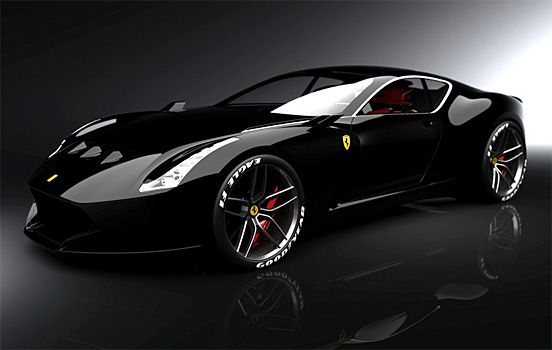 The Ferrari 610 GTO... Now, there's a piece of Licorice I could sink My teeth into... Yvonne