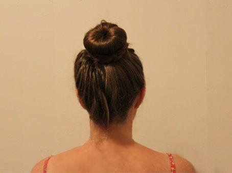 Plaited Formal Bun Hair Tutorial