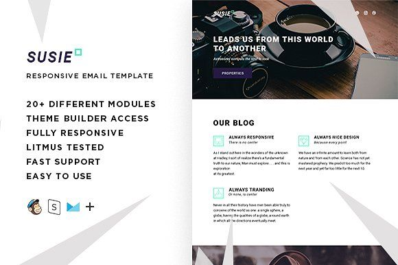 Susie – Responsive Email template