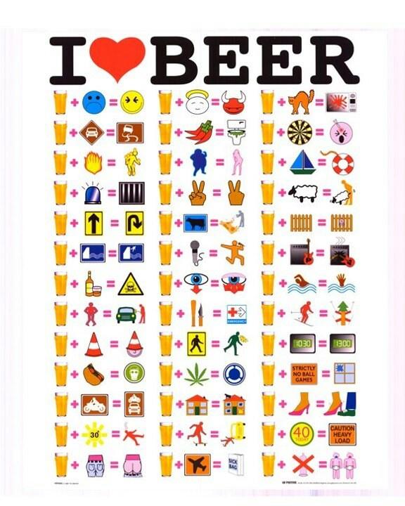 I <3 beers