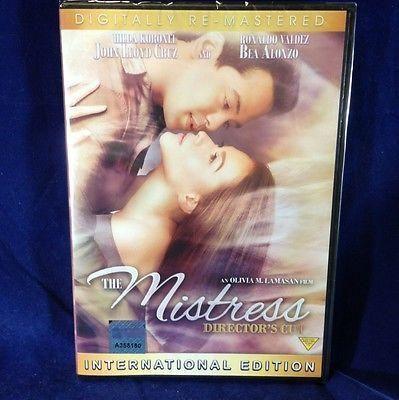 The Mistress John Lloyd Cruz , Bea Alonzo Filipino DVD
