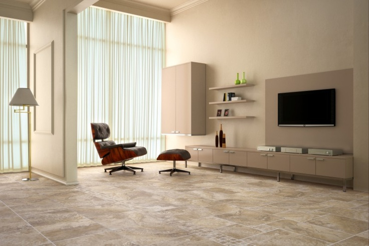 17 best images about flooring on pinterest for Tiled living room floor designs