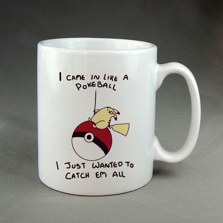 Pikachu Pokemon Custom Mugs Cheap Coffee Mugs Personalized