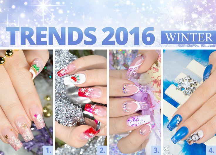 #nails #nailart #trend #winter Ihr braucht noch Inspirationen für tolle Winter-Designs? Kein Problem, wir haben einmal ein paar für Euch zusammengestellt. Welches gefällt Euch am besten? Eure Juliane
