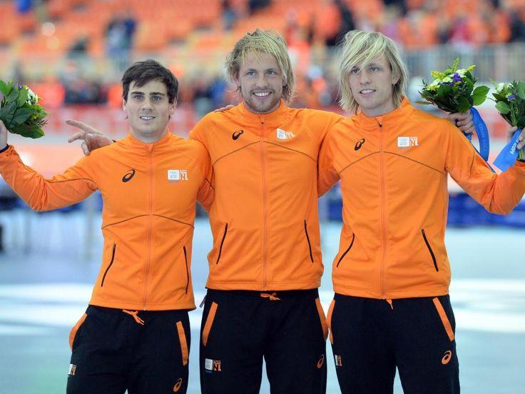 Olympische Spelen 2014  Michel Mulder~Goud Jan Smeekens~Zilver Ronald Mulder~Brons