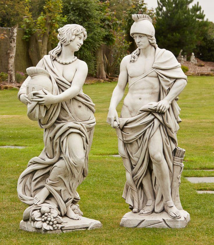 Best 25 Garden statues uk ideas on Pinterest Garden sculptures