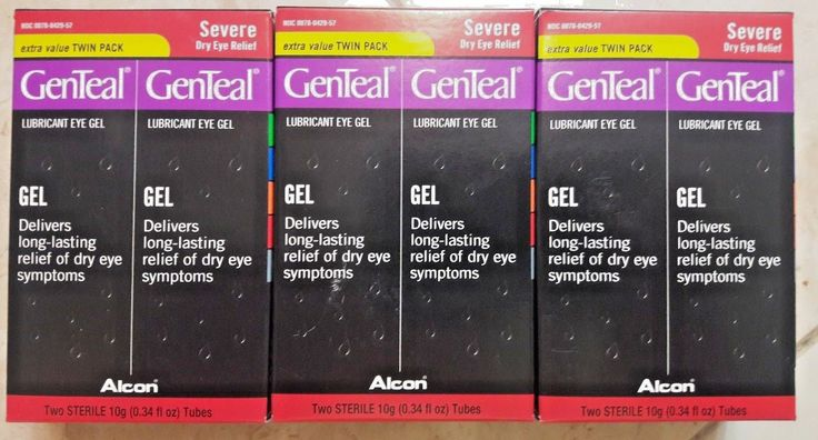 Other Sleeping Aids: 3 Twin Packs - Genteal Lubricant Severe Dry Eye Relief Gel Twin Packs -> BUY IT NOW ONLY: $50 on eBay!
