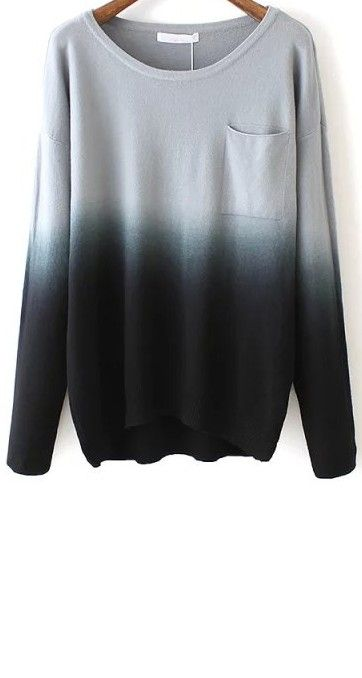 Best 25  Ombre sweater ideas on Pinterest | Ombre shirt, Dip dye ...