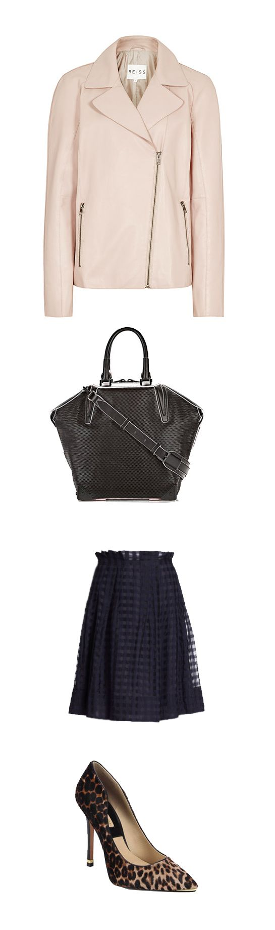 Margo & Me picked some beautiful Saturday essentials. Jacket by Reiss, bag by Alexander Wang, pumps by Michael Kors, skirt by Piazza Sempione.