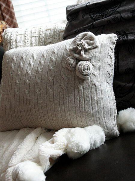 Из ненужного в нужное. Часть 4: идеи использования старого свитера - Ярмарка Мастеров - ручная работа, handmade