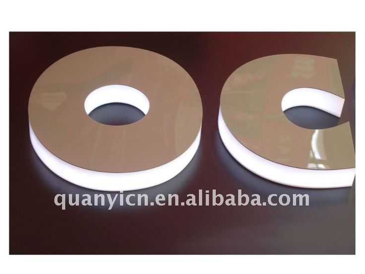 Transparent new acrylic LED sign billboard