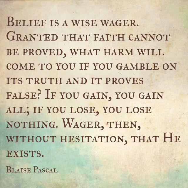 blaise pascal quotes god - photo #8