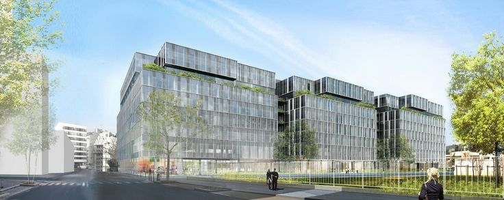 LE NUOVO - Clichy la Garenne (92) - MO: NEXIMMO 73 - Architectes: Atelier d'architecture Chaix et Morel et Associés - Photographe: Perspective - NF HQE Bâtiments Tertiaires - NIveau HQE Exceptionnel