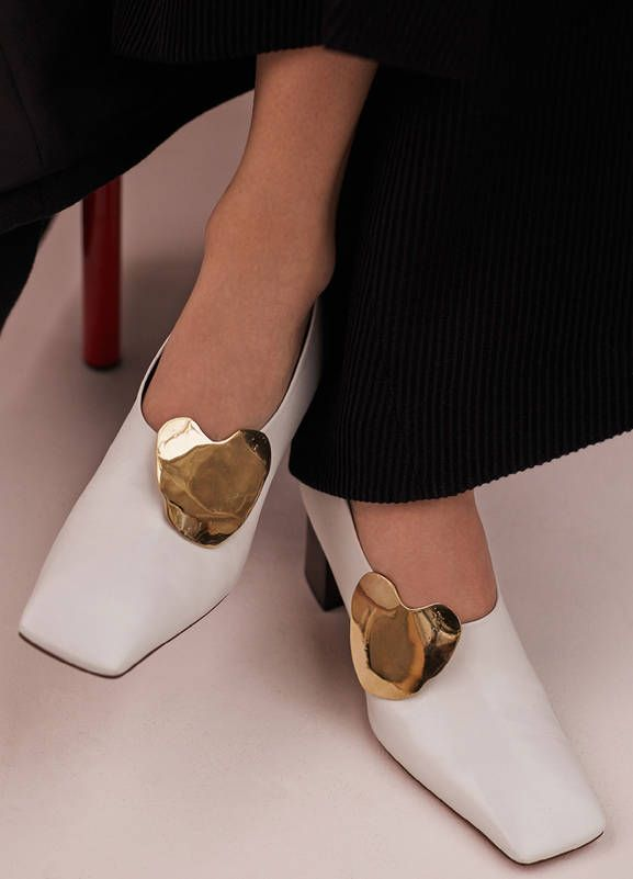Fall / Winter Runway 2015 Shoes collection by Céline.