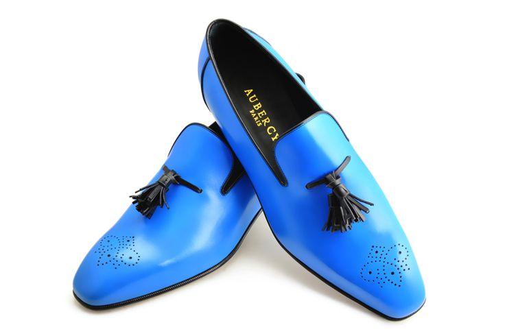 "#Aubercy - Solal II - Mocassin - Ligne Prestige - Sur commande - Made to order - Veau - Calfskin - ""Hawaï"" #Dapper - #Men - #Shoes ---"