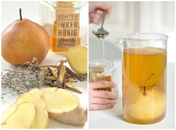 Ingwer-Orangentee + Tipps