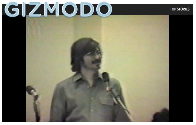A Very Rare Video of Steve Jobs Telling the History of Apple