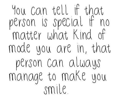 those special people =)