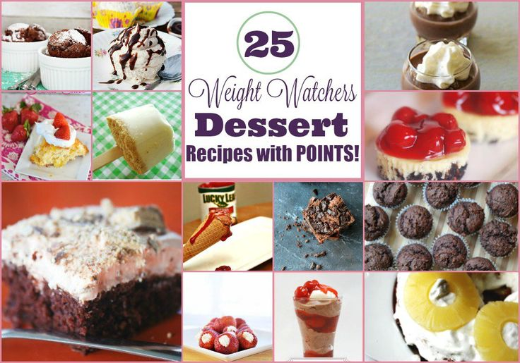 No need to give up desserts even if you're watching your weight. Here's a list of 25 mouthwatering Weight Watchers Dessert Recipes with Points Plus.