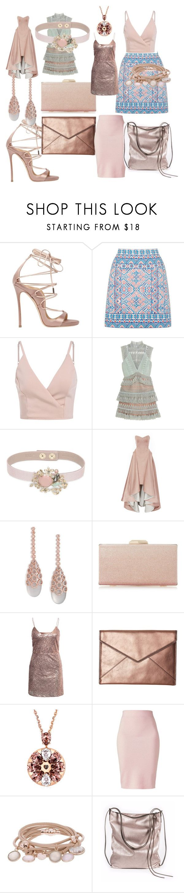 """""""#style#chick#moda#trend#"""" by hannazakaria ❤ liked on Polyvore featuring Dsquared2, Oasis, self-portrait, RED Valentino, Zac Posen, Carla Amorim, NLY Trend, Rebecca Minkoff, Winser London and Marjana von Berlepsch"""