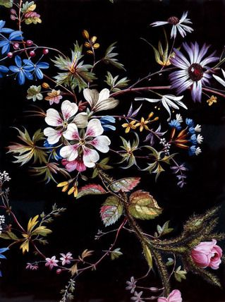 18th Century English Floral Patterns