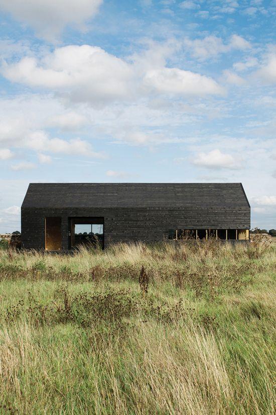 Ochre Schuurhuis in het oosten van Engeland