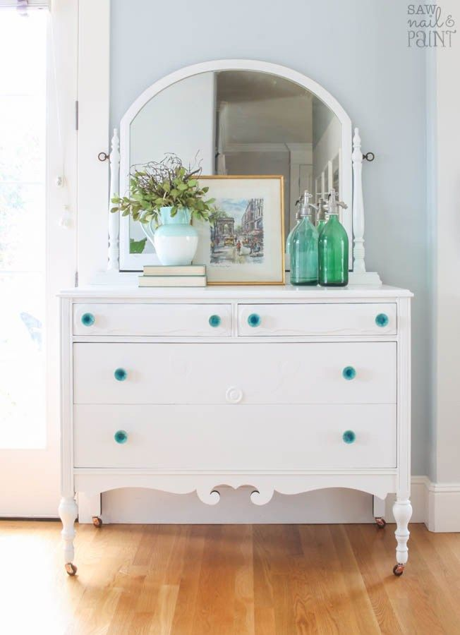 Tell Us Tuesday with Susan from Saw Nail and Paint - The Painted Drawer