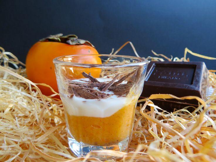 Dessert ai Kaki. Una ricetta realizzata con i nostri kaki dal blogger Francesco Francavilla. www.divanosrl.it #kaki #persimmon #ricette