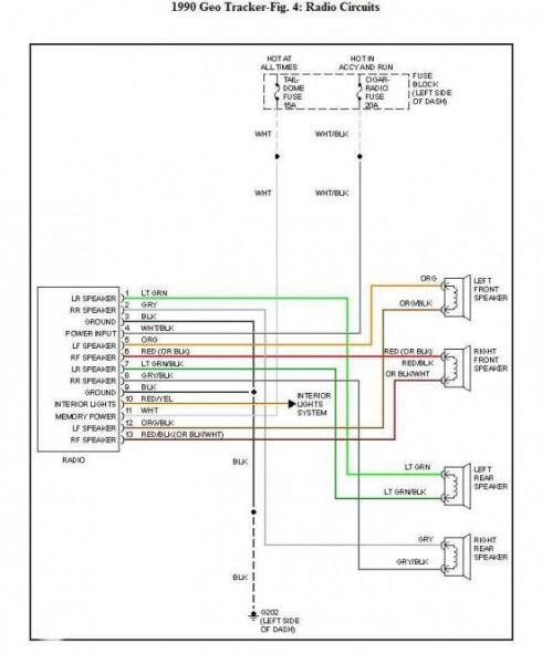Dodge Stereo Wiring Diagram 1988 - Wiring Diagram M9 on