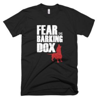 Fear the Barking Dox - Walking Dead parody T-shirt