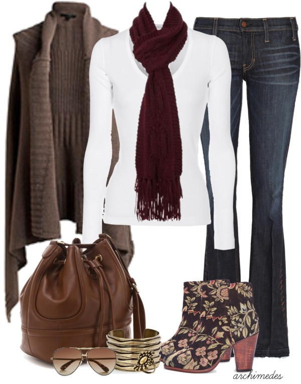 """""""Rag and Bone Floral Boots"""" by archimedes16 on Polyvore"""