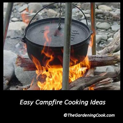 Summer will soon be here. Try some of these great ideas for campfire cooking  http://thegardeningcook.com/camping-foods/