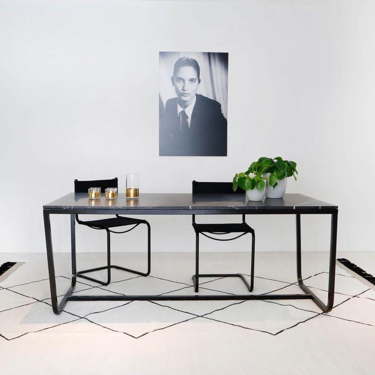 17 beste idee u00ebn over Marmeren Tafels op Pinterest   Moderne tafel en Koperen tafel