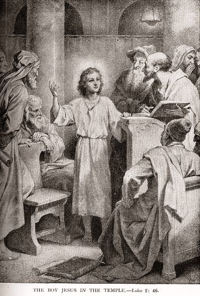 The Boy Jesus In The Temple