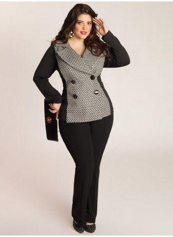Plus size jacket | plus size clothing  [ HGNJShoppingMall.com ] #fashion