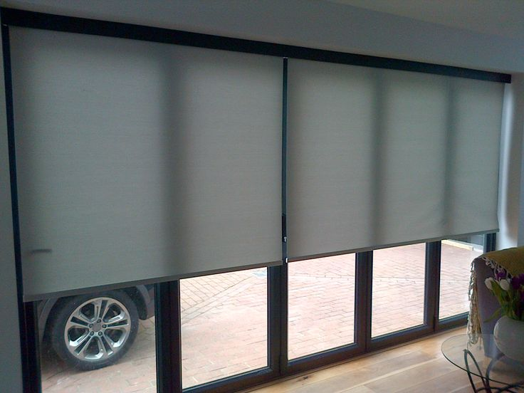 Luxury If you are looking for inspiration on ways to shade your bifold doors with modern bifold door blinds then look no further Deans has the solution