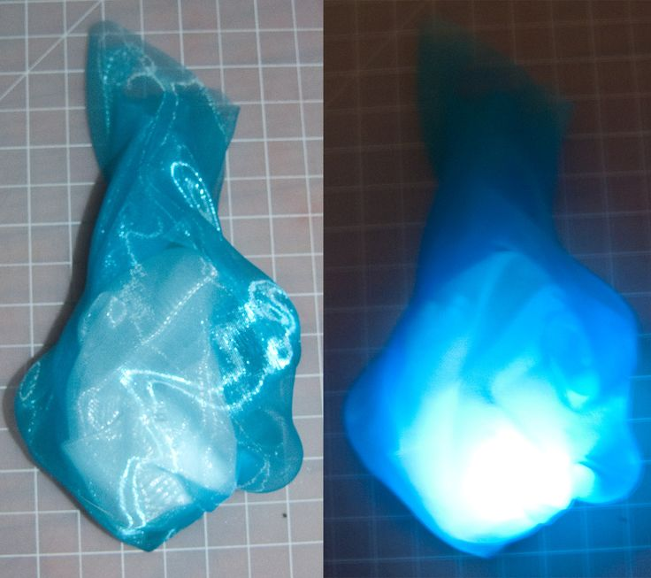 WARPAINT and Unicorns: Light Up Fabric Flame Tutorial! ~ Halloween & Ao no Exorcist / Blue Exorcist Cosplay