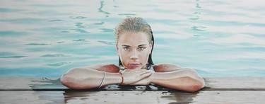 "Artist,Gustavo Fernandes; Painting, """"Blue Day"""" #art"